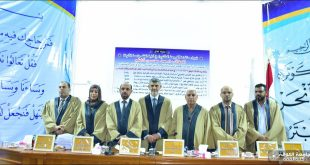 The University of Kufa discusses a doctoral thesis on the theoretical foundations of understanding the verses of the universe in the Holy Quran in the light of experimental scientific theories