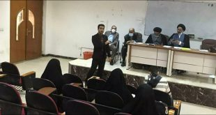 Launching the activities of the first student cultural forum at the University of Kufa, Faculty of Jurisprudence